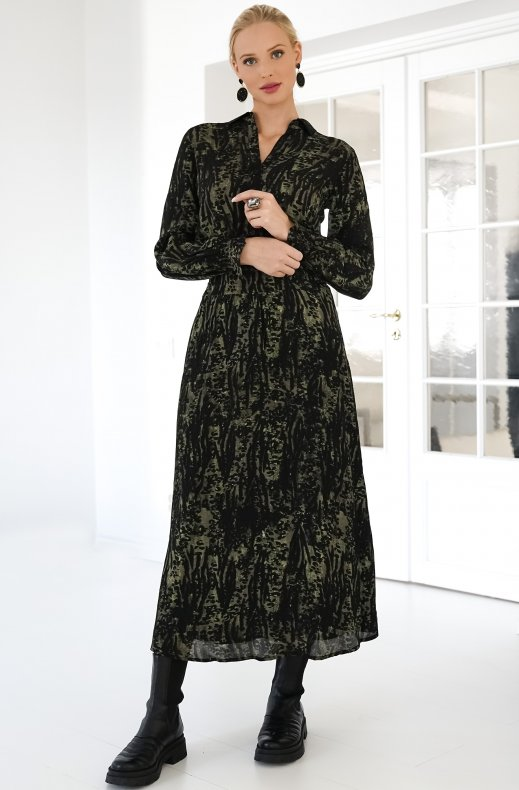 ALIX THE LABEl - Animal Maxi Dress AW20