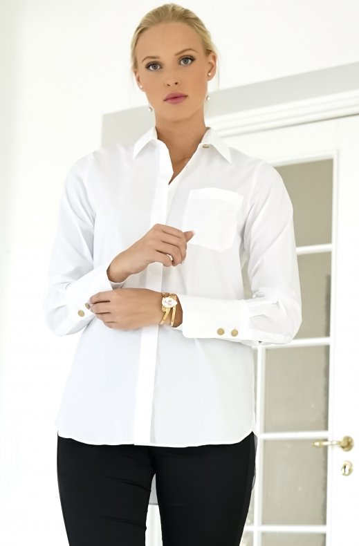 BUSNEL – ADRIANNE BLOUSE WHITE