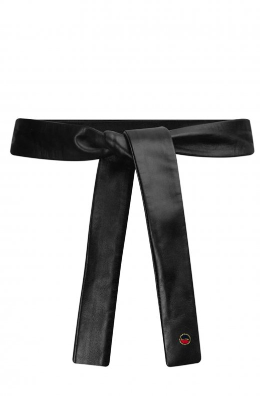 Busnel - Aix Leather Belt Black