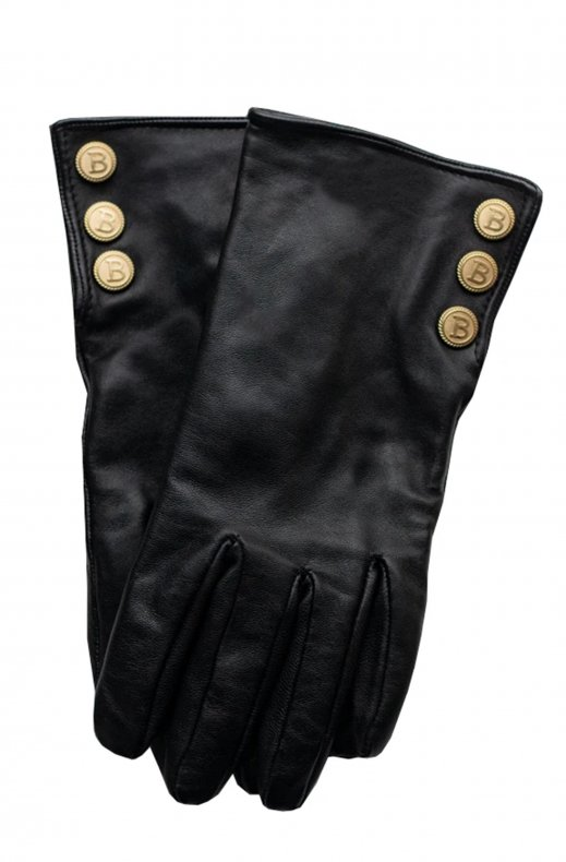 Busnel - Cara Leather Glove Black