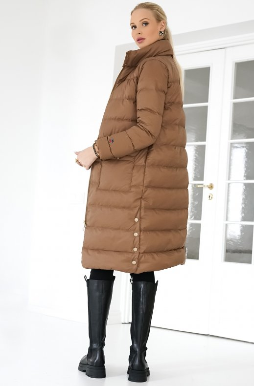 BUSNEL – FANNY DOWN COAT CINNAMON