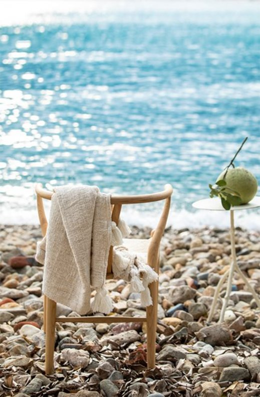 Ceannis - Natural Bali Throw