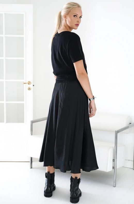 Fine Copenhagen - Kelly Long Skirt Black