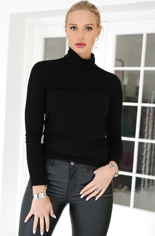 FREEQUENT – LIANA ROLLNECK BLACK