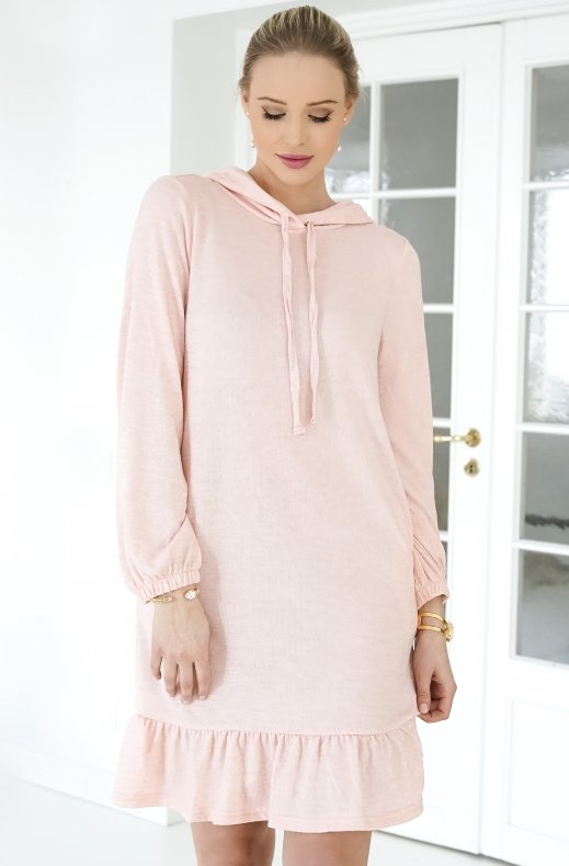 Freequent - Livana Dress Silver Pink
