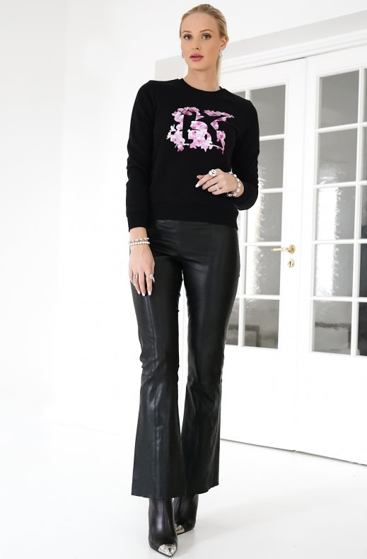 KARL LAGERFELD – ORCHID SWEATER BLACK