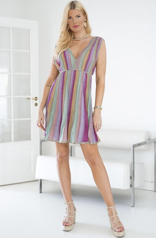 M.MISSONI - RAINBOW SHORT DRESS