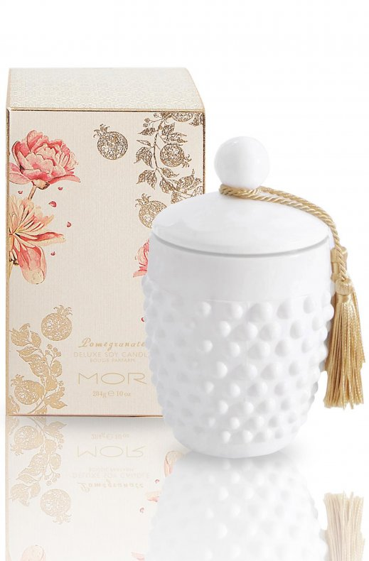 MOR - POMEGRANTE DELUXE SOY CANDLE