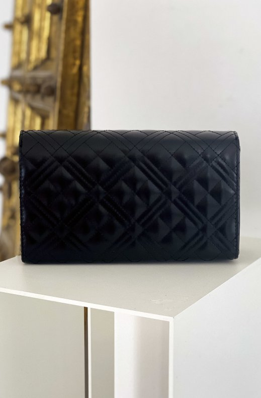 LOVE MOSCHINO - Quilted Bag 22 x 13 Black