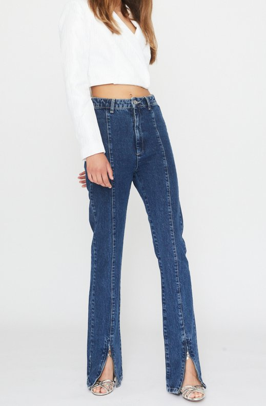 Rotate - Jada Jeans - Dark Blue Denim